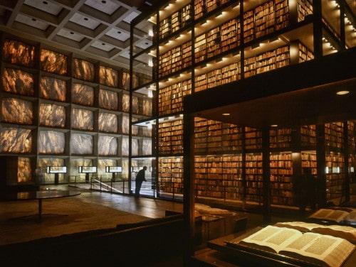 Partir à l'étranger et découvrir les livres anciens de la bibliothèque universitaire de Yale, classée 17e mondiale au QS ranking